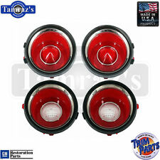 71-73 Camaro with RS Back Up Reverse & Taillight Tail Light Lamp Lens USA - SET