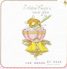 """""""A mother's work is never done""""counted cross stitch kits"""