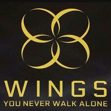 BTS-[WINGS:YOU NEVER WALK ALONE]Album 2 Ver SET CD+ Photobook+2p Standing Card