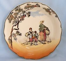 1939 Vintage Royal Doulton THE GLEANERS - ENGLISH SCENES Series Ware D6123 Bowl
