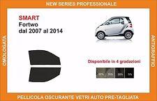 pellicola oscurante vetri pre tagliata smart fortwo dal 2007-2014 kit anteriore