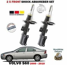 FOR VOLVO S60 2.0 2.4 2.5 T5 D5 2000-2010 2X FRONT SHOCK ABSORBER SHOCKER SET