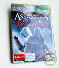 Assassin Creed Revelations Xbox 360 NEW & SEALED AUSSIE game! For PAL X3 console