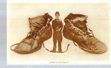 Ripr. Cartolina Cultura Spettacolo 1912 Charlot scarpe