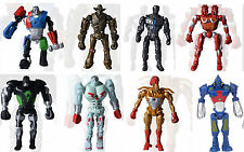 8pcs Movie Real Steel Characters Zeus Atom Midas Noisey Boy Action Figures Toy