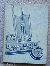 1938 HIGH SCHOOL OF COMMERCE YEAR BOOK,  SAN FRANCISCO, CALIFORNIA