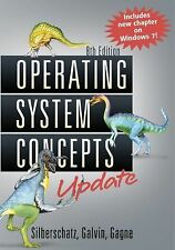Operating System Concepts by Silberschatz, Abraham, Gagne, Greg, Galvin, Peter
