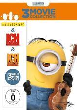 Minions + Ich einfach unverbesserlich Teil 1&2 - 3 Movie Collection DVD NEU