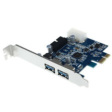 USB 3.0 2-ports 19 broches Entête carte PCI-E 4 broches IDE