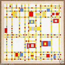 Piet Mondrian Broadway Boogie Woogie Original Limited Ed Silkscreen Print 1967