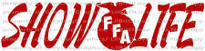 Show Life FFA Vinyl Decal - Future Farmers of America Sticker Show Life Farming