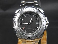 NEW OLD STOCK NOS SECTOR 350 SPORTS WR 100M JAPAN MOVT DATE QUARTZ MENS WATCH