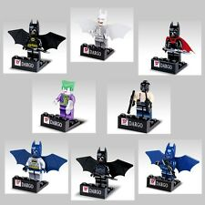 Lot of 8 Sets Super Hero Batman Joker  MiniFigures Building Toy Free Shipping