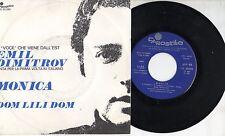EMIL DIMITROV canta in ITALIANO disco 45 g MADE in ITALY Monica + Dom Lili PROMO
