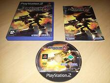 SHADOW THE HEDGEHOG PS2 Game (UK PAL VGC COMPLETE) Platform Action Shooter SONIC