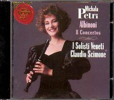 ALBINONI - 8 Recorder Concertos - Michala PETRI / Claudio SCIMONE - RCA
