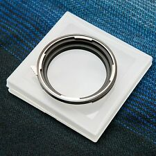 Hasselblad V Mount Lens to Phase One / Mamiya 645 Mount Adapter (Free Body Cap)