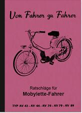 Motobecane Mobylette Bedienungsanleitung Betriebsanleitung Handbuch AV 43 76 89