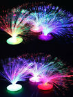 Childrens/Toddlers/Babies Fibre Optic Colour Changing Night Light