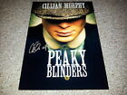 "PEAKY BLINDERS PP CAST SIGNED 12""X8"" A4 PHOTO POSTER CILLIAN MURPHY"
