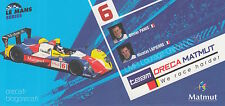 Panis and Lapierre Team Oreca Matmut Promo Card Le Mans.