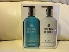 Molton Brown 2 x 300ml Blue Maquis Hand Wash & Lotion Gift Set BRAND NEW *LOOK*