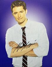 Matthew Morrison HAND SIGNED 10x8 Image C Photo  UACC Registered COA AFTAL