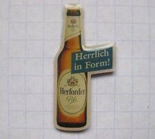HERFORDER PILS / FLASCHE / HERFORD   ............ Bier-Pin (110c)