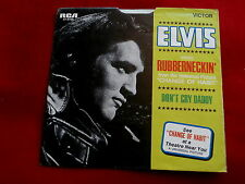 ELVIS PRESLEY~RUBBERNECKIN~DON'T CRY DADDY~SLEEVE ONLY~RCA 47-9768~ POP 45