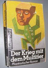 Sci-Fi DDR Vladimir PÁRAL Der Krieg mit dem Multitier PHANTASTISCHER ROMAN 1987