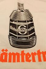 Alte Plastiktüte Einkaufstüte Sechsämtertropfen shopping bag Likör 70er 80er