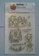 Woodware clear rubber stamp set. Brand new.