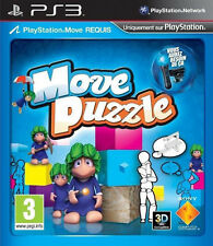 MOVE PUZZLE sur Playstation 3 PS3