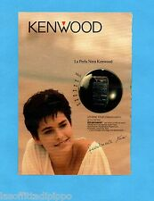 TOP990-PUBBLICITA'/ADVERTISING-1990- KENWOOD