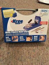 Kreg K4 Pocket Hole Jig Woodworking System New Sealed Unopened With DVD