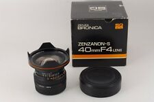 【AB Exc+】 Zenza BRONICA ZENZANON-S 40mm f/4 Lens for SQ w/Box From JAPAN #2301