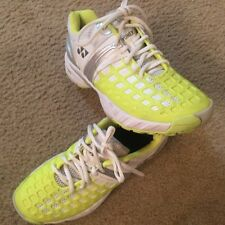 YONEX Quattro Fit PowerCushion Shoes Green white Metallic 8.5
