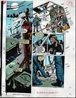 Original 1991 Moon Knight 22 page 23 Marvel Comics color guide artwork: 1990's
