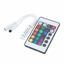 Dimmer 24 KEY IR REMOTE CONTROLLER FOR 5050 3528 RGB LED Striscia Luce Lampada