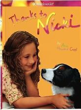 Thanks to Nicki (American Girl (Quality)) Girl Of The Year 2007 Horse Jackson