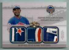 EDWIN ENCARNACION 2014 TRIPLE THREADS 10 COLOR GAME USED ALL-STAR GAME PATCH /9