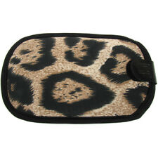 Teléfono Funda Pouch Mobile Mp3 Player Brown Leopard Print Itz cubiertos G-force