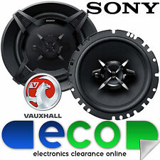 SONY Vauxhall Corsa C 2000 - 2006 17cm 540 Watts 3 Way Front Door Car Speakers