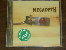 MEGADETH Risk CD NEUF