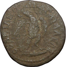 CARACALLA 193AD Anchialus Thrace Authentic Ancient Roman Coin Eagle  i31083