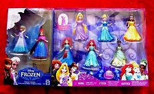 8 DISNEY PRINCESS MAGICLIP SET ARIEL MERIDA TIANA ELSA ANNA MAGIC CLIP BDAY GIFT