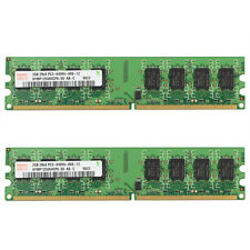 Hynix 4GB 2x2GB 2Rx8 PC2-6400U-666-12 240Pin HYMP125U64CP8-S6 For Intel CPU RAM
