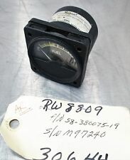 Aircraft Part Beechcraft 58-380075-19 Fuel Indicator
