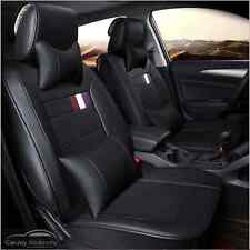 Black Leather Car Seat Covers 5 Seats Cover Mazda 3 Mazda 6 Mazda CX3 Mazda CX5