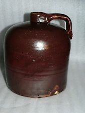 Minnesota Common Brown Whisky Jug Red Wing Pottery Albany Slip 1 Gallon Stonewar